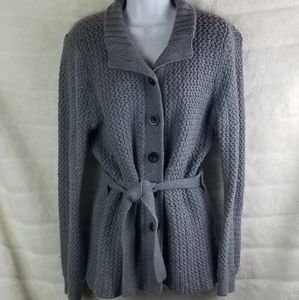 Old Navy sweater with belt